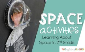 Learning about space in second grade- so many great space activities- The Applicious Teacher