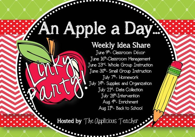 An Apple a Day Linky- Enrichment