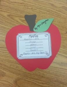 apple poem freebie