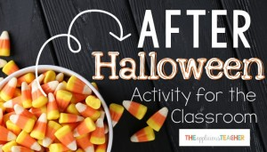 The perfect activity for the day (or a few days) after Halloween!