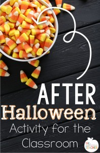 After Halloween activity to get your kids excited AND get rid of that candy! Yeah for candy graphing!
