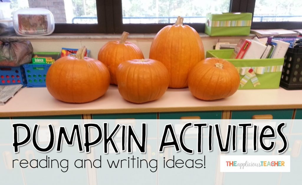 Pumpkin activities for reading and writing!