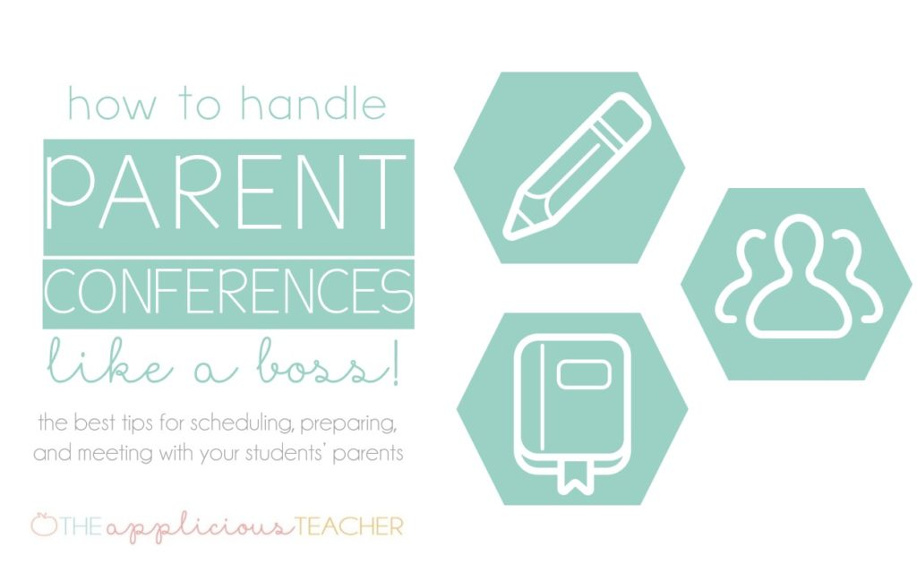 How to Handle Parent Teacher Conferences like a Boss-