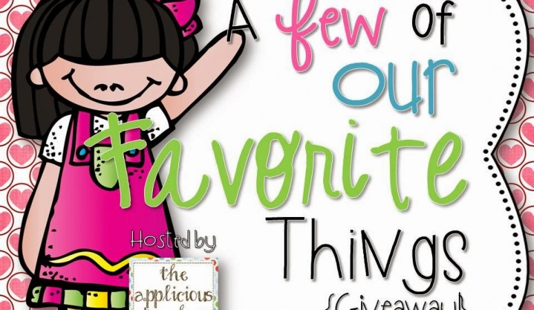 A Few of Our Favorite Things… GIVEAWAY!
