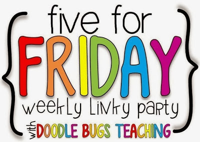 Five for Friday- Last Week of Vacay and a Giveaway!