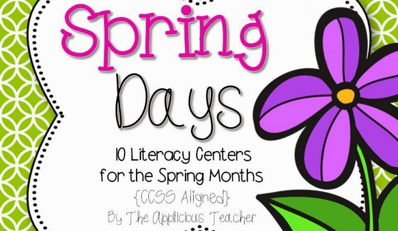 Spring Days! Literacy Centers for the Exhausted Teacher