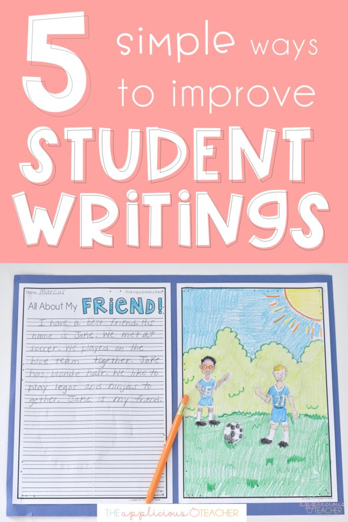 improve student writings