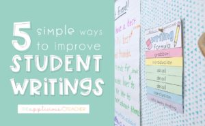 improve student writing