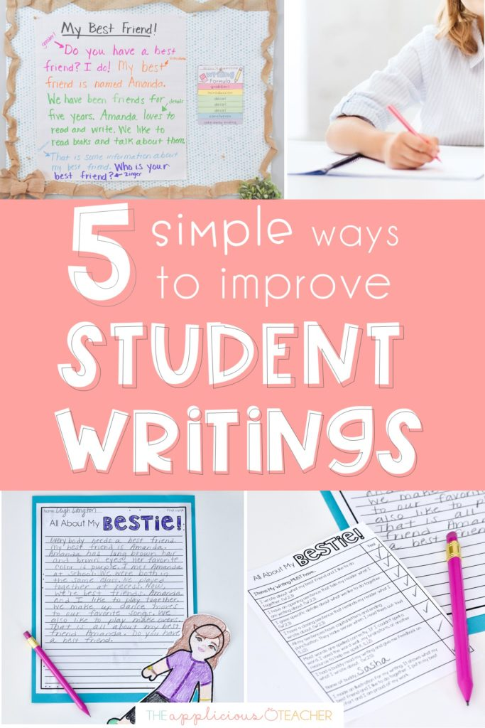 simple ways to improve writing