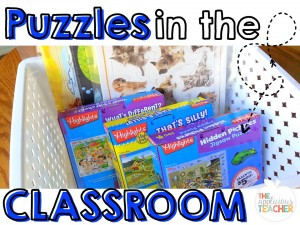 Puzzles in the classroom
