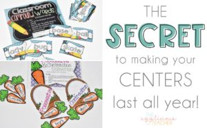 The Secret for Making Your Centers Last All Year