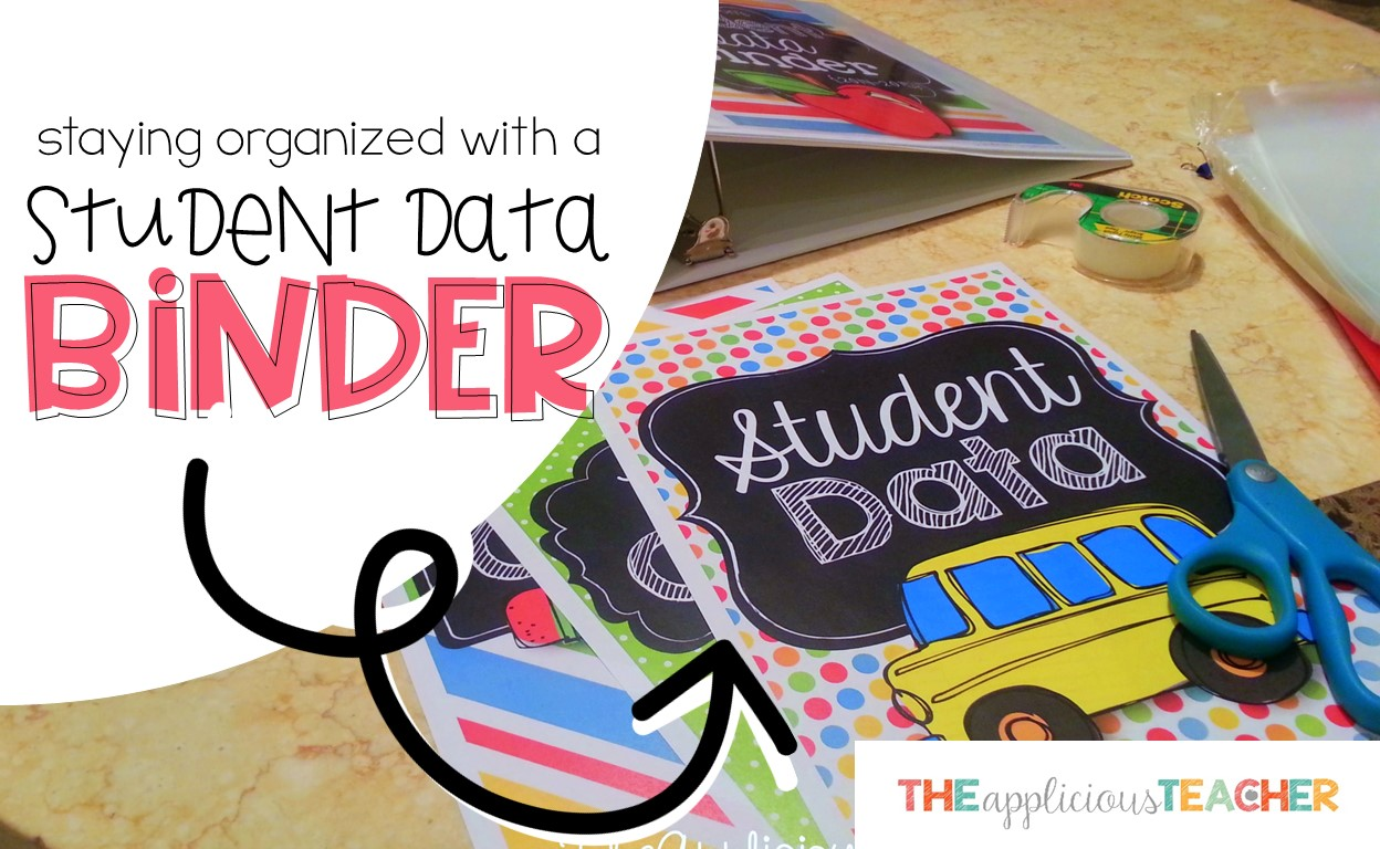 Keep all your student data organized with this Student Data Binder