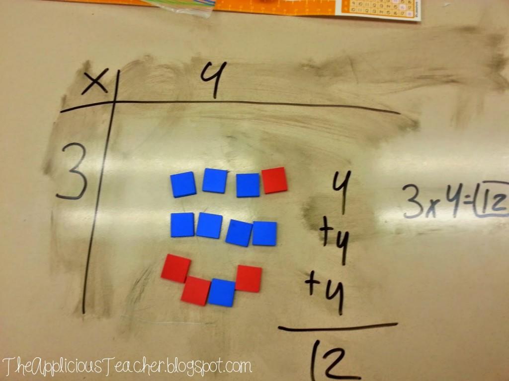 manipulative for teaching arrays