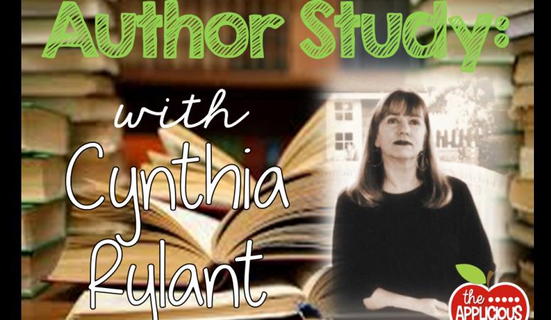 Cynthia Rylant- Author Study