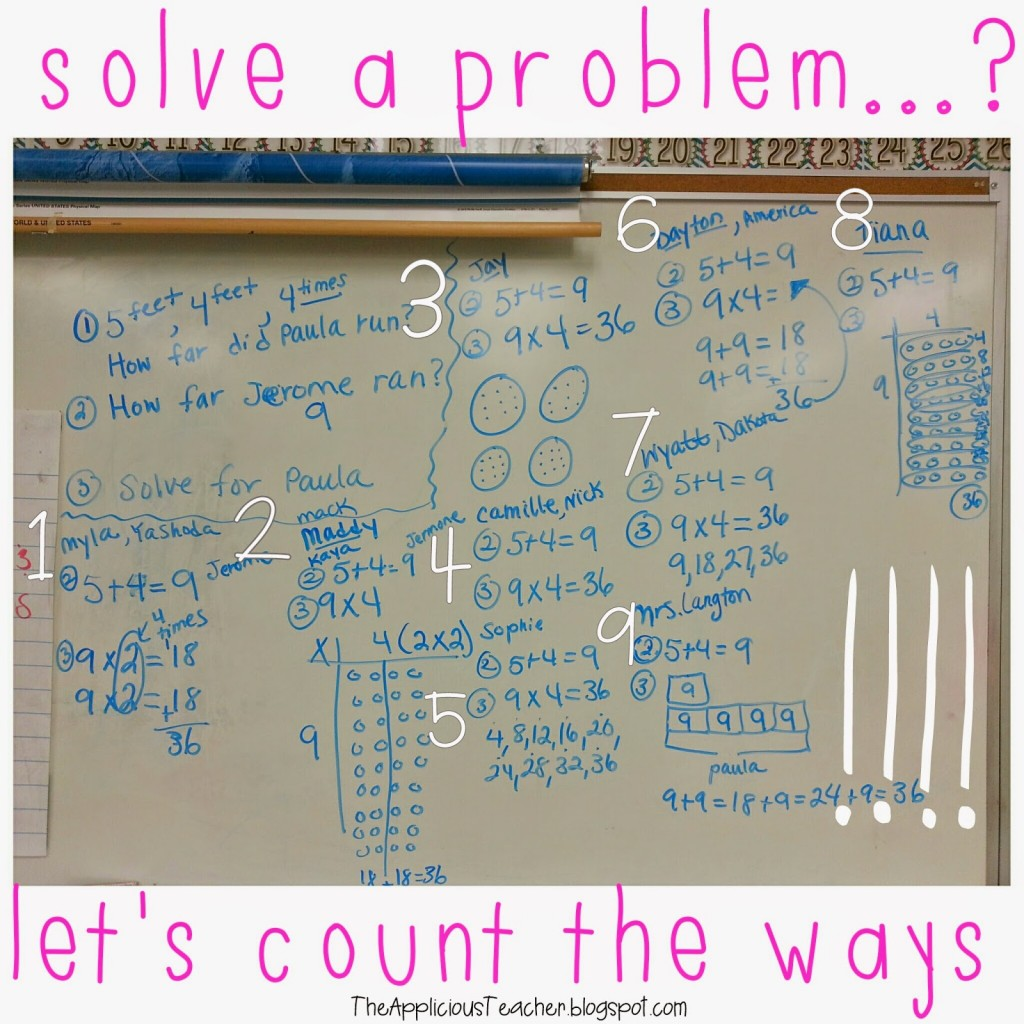 solving a problem multiple ways