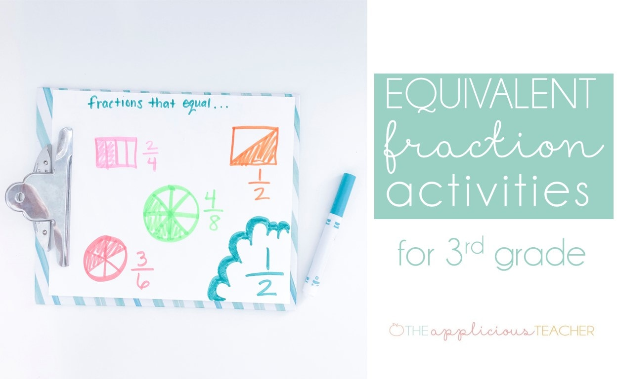 equivelant fractions in 3rd grade