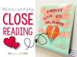 Valentine's Day Close Reading activities