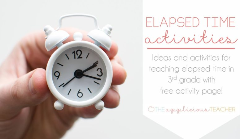 Elapsed Time Activities and a Free Download