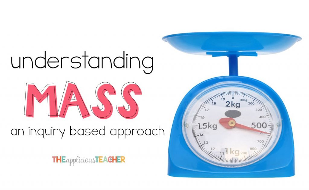 understanding mass using a hands-on and engaging approach