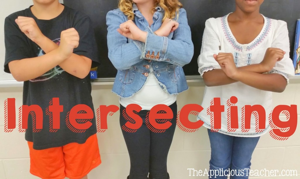 intersecting lines activity