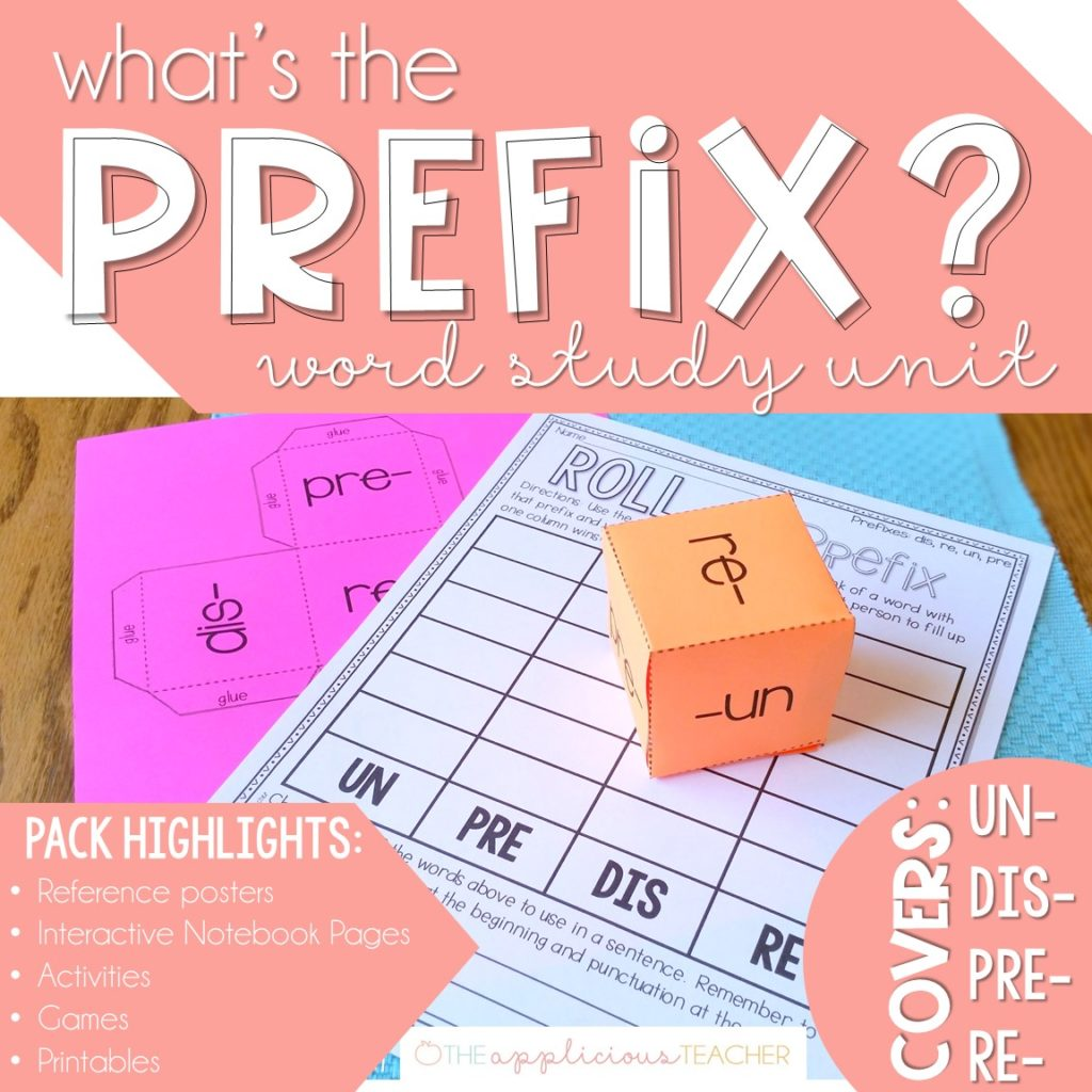 Prefix unit activities