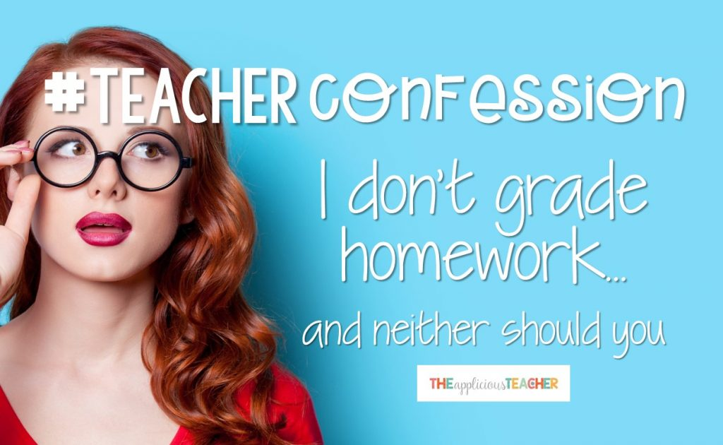 Why you should stop grading homework, NOW