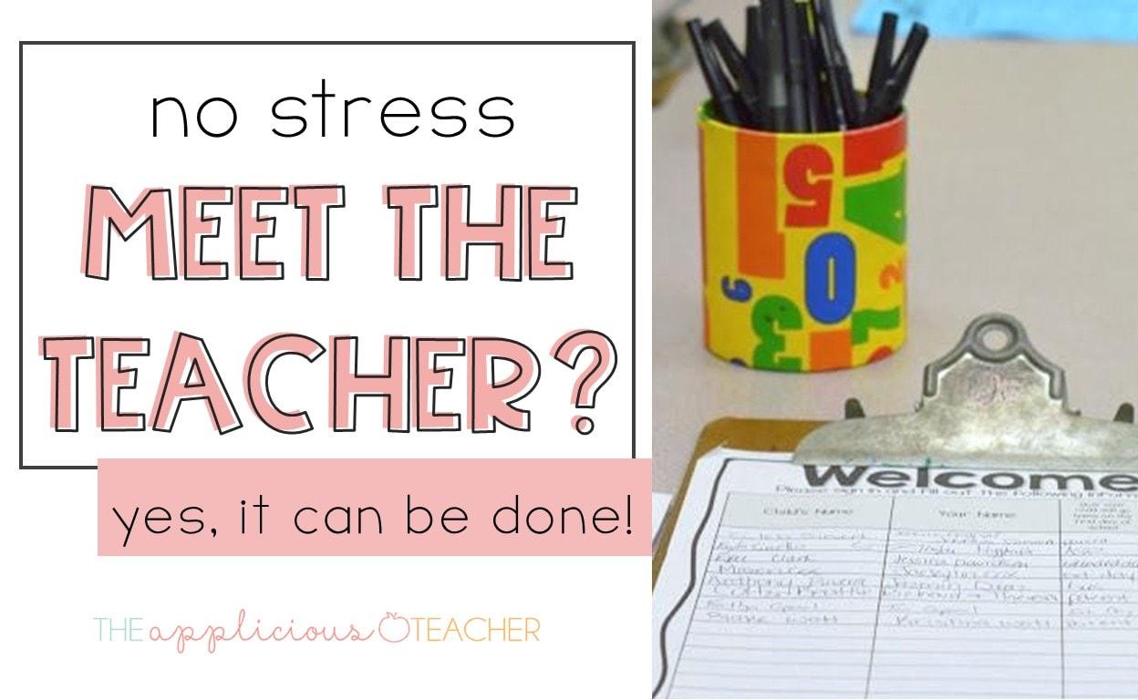 easy meet the teacher