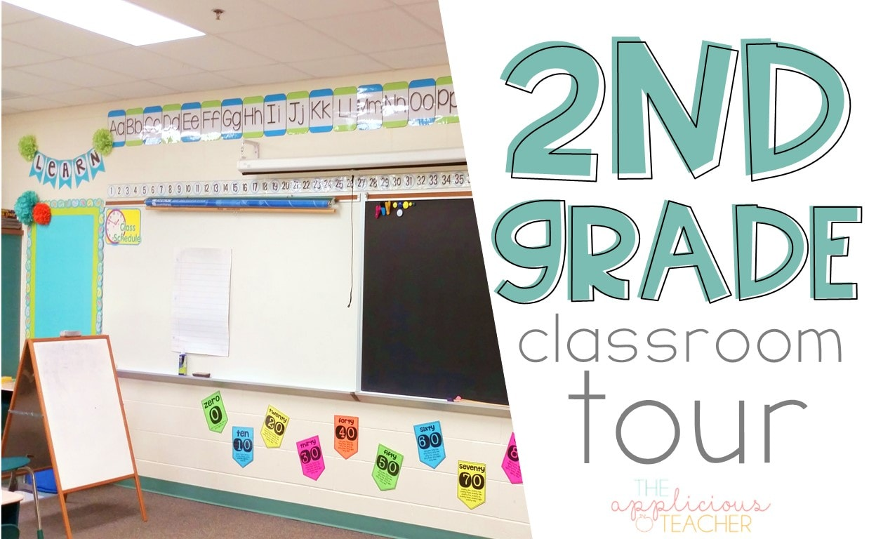 Come check out my 2nd grade classroom! TheAppliciousTeacher.com