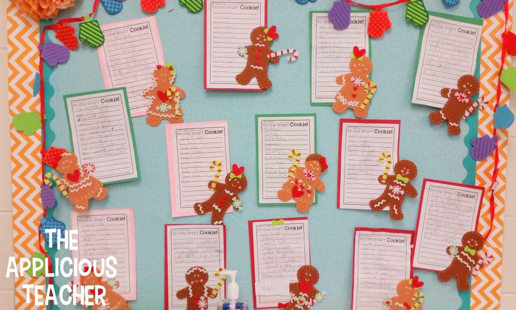 One Smart Cookie- Gingerbread bulletin board idea