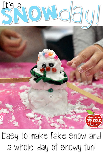 Classroom snow day fun snowflake bentley