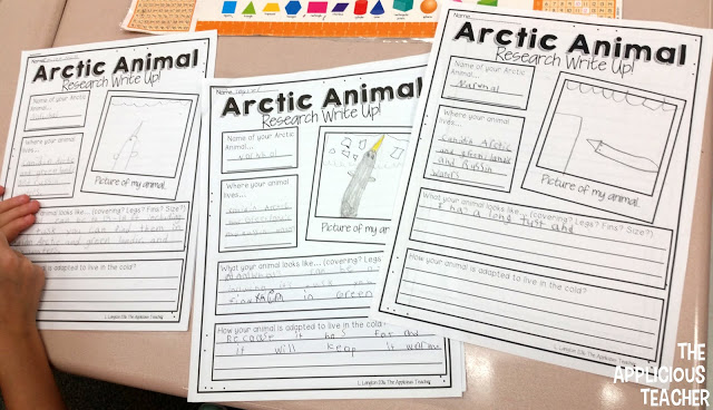 arctic animal research write up papers