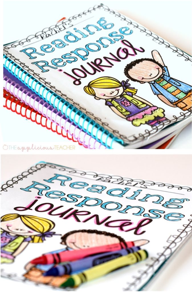Reading Response journals in the classroom- the most powerful and easiest strategy I've ever implemented. TheAppliciousTeacher.com #reading #readingresponsejournals #readingjournal