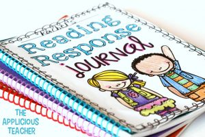 Using reading response journals in the classroom to engage students about text in a non threatening and EASY way.