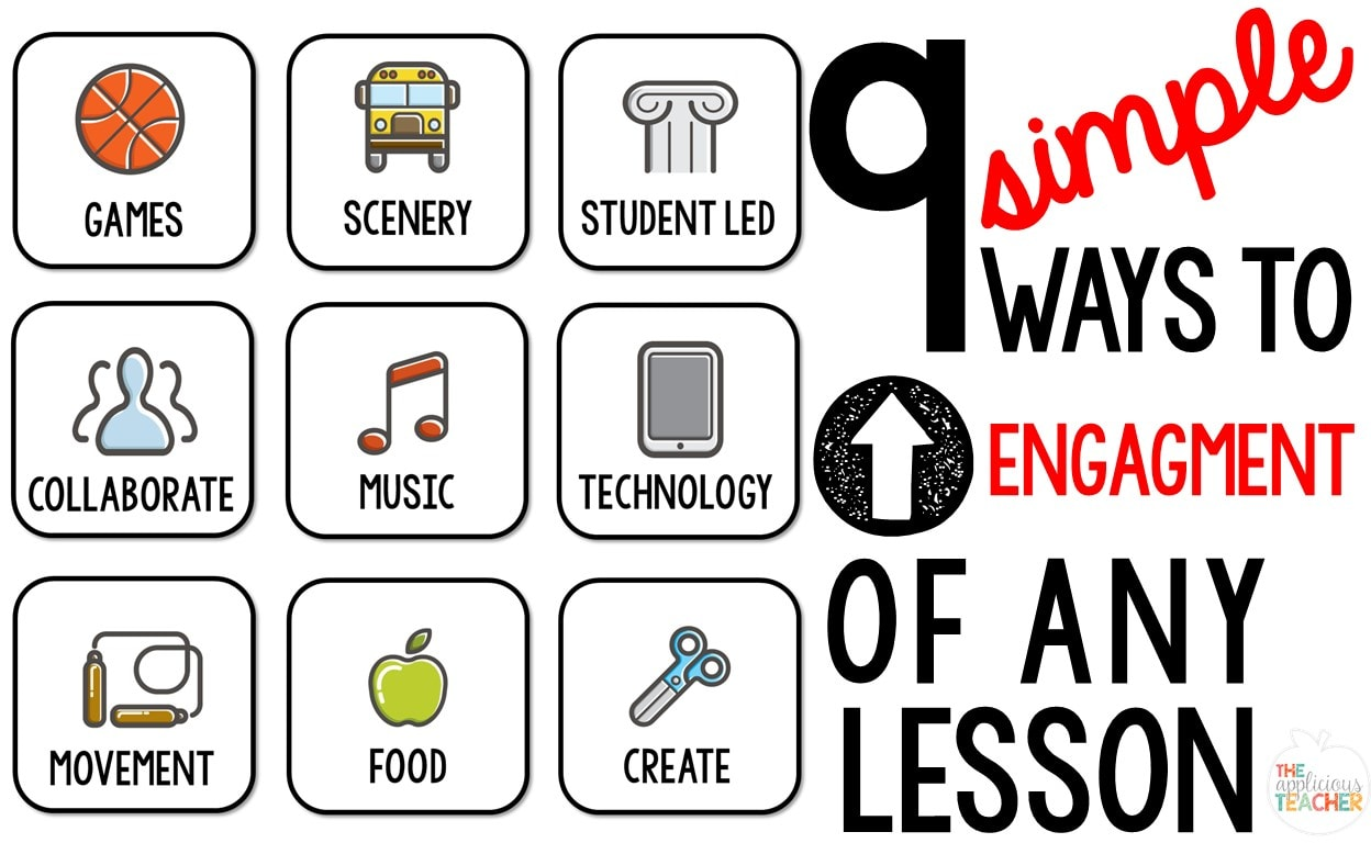 Ways to UP Engagement of Any Lesson