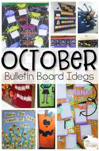 10 Best October Bulletin Boards. Love these fun bulletin boards and door ideas!