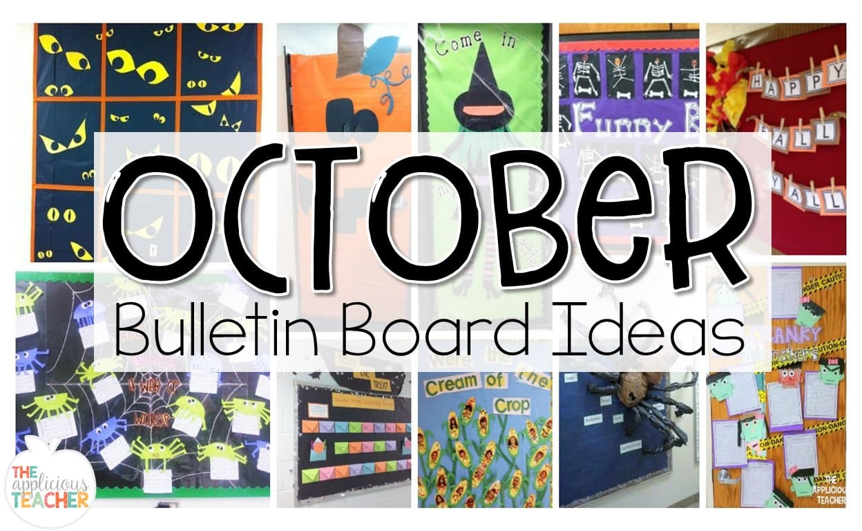 October Bulletin Boards Ideas For Bulletin Boards And Doors For October