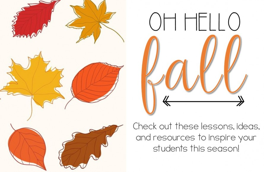 Fall activity ideas and lesson plans