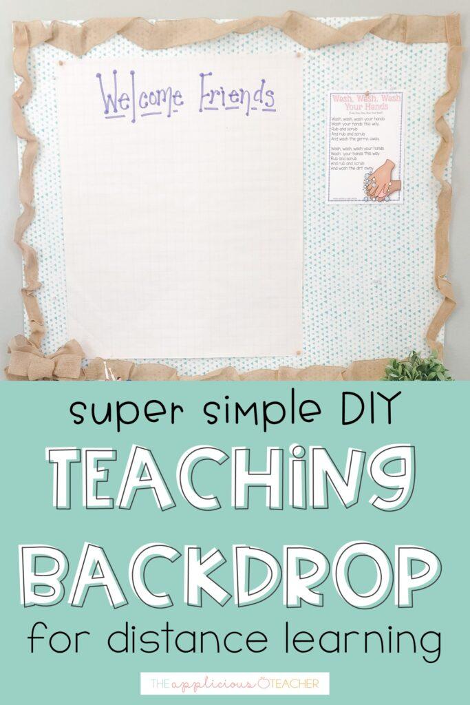 simple temporary bulletin board
