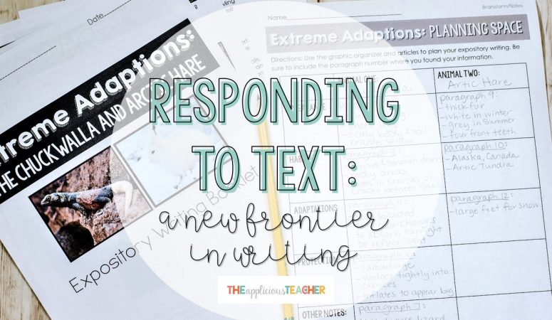 Responding to Text: a Shift in Writing Instruction