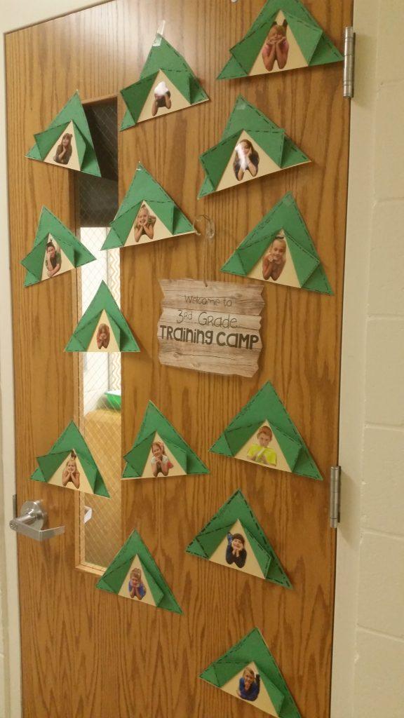 Welcome to Third Grade Training camp door