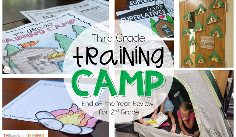 Third Grade Training Camp: End of the Year Review for 2nd Grade