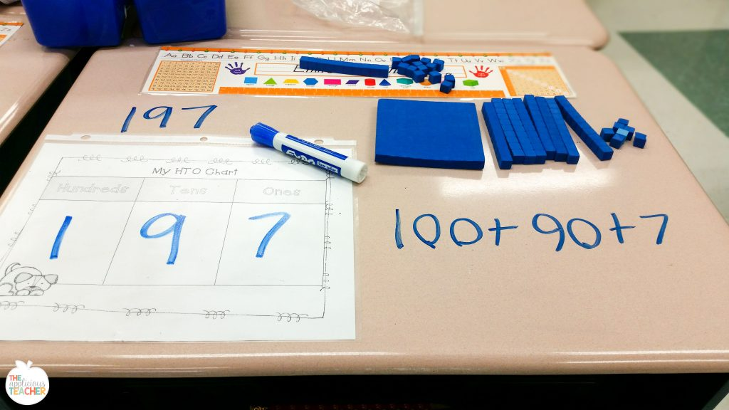 use dry erase marker on desks? Yes you can! Great way to save paper, but still give valuable practice.
