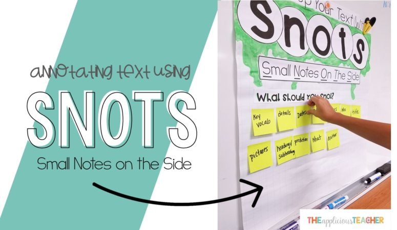 Annotating Text Using SNOTS: Small Notes on the Side