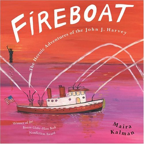 Fireboat- perfect book for teaching young students about September 11th