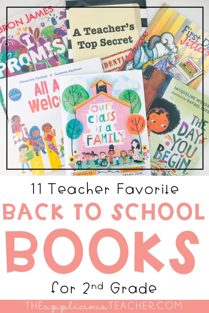 back to school books for 2nd grade