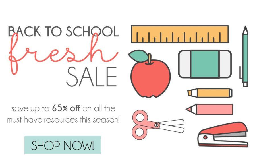 Back to School Sale TpT 2018 The Applicious Teacher