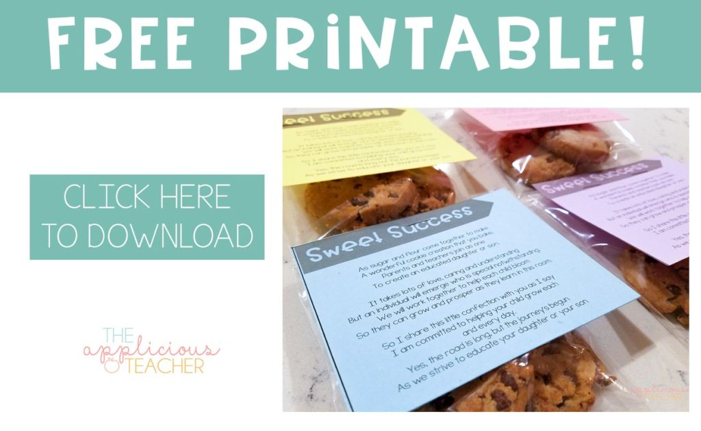 Click here to download this open house free resource