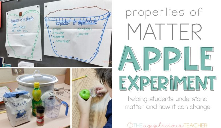 Properties of Matter Apple Experiment