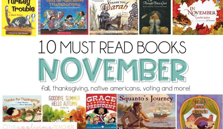 November Must Reads for 2nd Grade