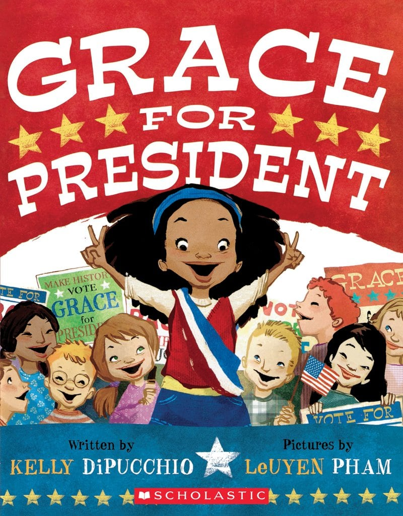 Grace for President- a must read for the beginning of November and help students become conscious citizens